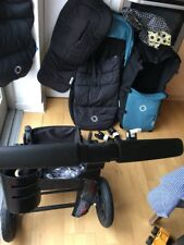 bugaboo cameleon 3 Petrol Blue + Black Chasis With A Bundle Of Accessories