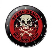 Hot Rod Rat Rod Speed Demon Metal Clock Man Cave Garage Body Shop Club fsc031
