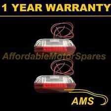 2X FOR VW PASSAT CC JETTA 18 WHITE LED FRONT DOOR LIGHT RED/WHITE LIGHT LAMP