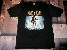 """AC DC T-SHIRT """"BLOW UP YOUR VIDEO"""" 80's VINTAGE SINGLE STITCH XL 50/50 NOS! RARE"""
