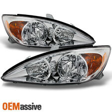 Fits 2002 2004 Toyota Camry Headlights Replacement Leftright Pair 02 03 04