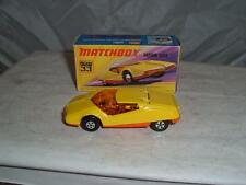 MATCHBOX SUPERFAST #33 DATSUN 126X WITH ITS BOX PLEASE SEE THE PHOTOS