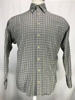 Burberry London Long Sleeve Button Up Multicolored Shirt Men's Size Medium EUC