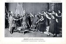 Immagine dello stage banadietrich V. Siegfried Wagner partecipino Karlsruhe stampa d'arte 1909
