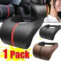 1Pc Car Seat Head Neck Rest Soft Foam PU Pillow Cushion Pad HeadRest Hot Sale