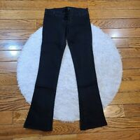 Bird by Juicy Couture Women's Black Low Rise Jeans Size 24