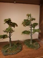 Wargaming scenery,  Wild Wood Trees, Warhammer, Lotr, Hand Made Terrain