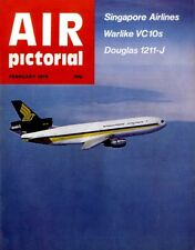 AIR PICTORIAL MAGAZINE 1979 FEB NO.60 SQUADRON S.A.A.F , WARLIKE VC10S