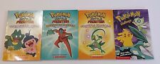 Set of 4 Pokemon Scholastic Books 2003 -2007 Chapter and Challenge Book