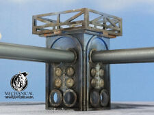 Level 2 Fourway Junction Tower - 28mm terrain 40k Infinity Dust Tactics Dark Age