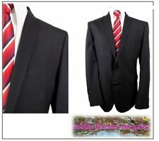 """Next Washable 2 piece mens suit Ch44""""L W36"""" L32"""" Black Formal"""