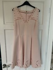Ted Baker Pink Dress Size 4 UK 14 New With Tag