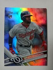 2017 Topps Brian Goodwin #289 Rookie Refractor SP