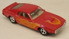 Imperial Shelby GT500 Mustang Red w/Flames Diecast 1/64 Scale