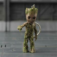 NIB Guardians of the Galaxy Vol.2 Baby Groot Bombenknopf Drucken Key Chain Figur