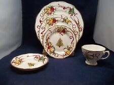 Old Country Rose Christmas Tree 20 Piece Dinner Set