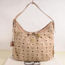 AUTHENTIC MCM Shoulder Hobo Bag + Dust Bag.