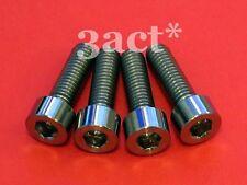 4 - M6 x 20mm Titanium/Ti Bolt fit Shimano XTR, XT, LX, Deore Disc Brake Caliper