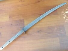 Custom Handmade Damascus Steel 28.00 inches Hunting Katana Sword Blank Blade