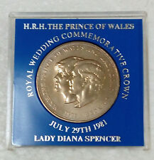 SCB & HSBC H.R.H.PRINCE of WALES & LADY DIANA SPENCER Commemorative Crown x 2pcs