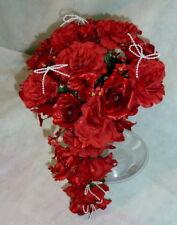 Brautstrauss Hochzeitsstrauß bordeaux Blumenstrauß Hochzeit