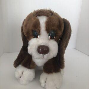 "Baxter Basset Hound Plush Dog Stuffed Toy Puppy 9"" Used"