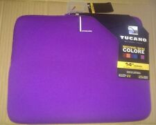 "Tucano® Carrying Case (Sleeve) for 14"" Notebooks - Purple"