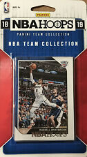 Oklahoma City Thunder 2018 2019 Hoops Factory Team Set Russell Westbrook Diallo