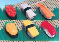 60 pieces Iwako Japanese Puzzle Sushi Eraser Set S-3571