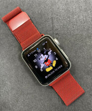 Apple Watch Nike+ Series 3 38mm Silver Sport GPS LTE Cellular Running Watch
