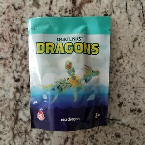 Wendy's Kids Meal Smartlinks Dragon- SEA DRAGON