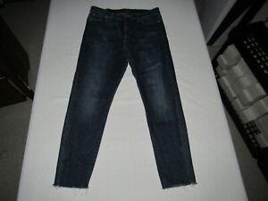 Lucky Brand Women's Skinny Ankle Blue Denim Jeans Size 10/30 Waist 30 Inseam 27