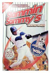 Slammin Sammy Sosa Frosted Flakes Breakfast Cereal New Sealed 1998 Full