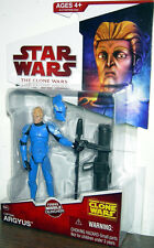 """STAR WARS The Clone Wars Collection_CAPTAIN ARGYUS 3.75"""" action figure_New & MIP"""