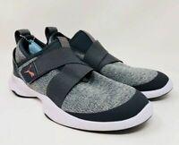 NEW!!! Puma Women's Dare AC Mesh Slip-On Sneakers (Black/Silver, Size: 6)