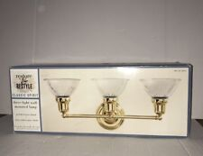 RESTORE & RESTYLE CLASSIC SPIRIT THREE LIGHT WALL- MOUNTED LAMP