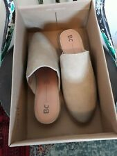 New In Box Free People BC Suede Vegan Austin Flat Taupe Shoe, Size 7 1/2, $70