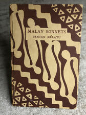 MALAY SONNETS. by Pantun Melayu.