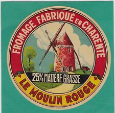 K706 FROMAGE LE MOULIN ROUGE CHARENTE 25% MATIERE GRASSE