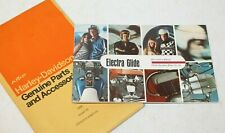 New Listing1970 Harley Davidson Fl Flh Electra Glide Rider Handbook Owners Manual 99460-70