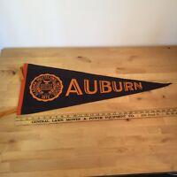 Vintage Auburn University War Eagles Full Size Pennant