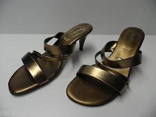 Chaussures ouvertes PARBIS doré pour FEMME taille 38 sandales -Modèle d'Expo-