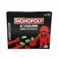Monopoly Socialism Board Game Parody Adult Twist Family Party Fun Strategy Pack