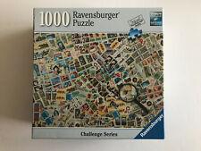 STAMP CHALLENGE Karen M. Romanko, Photographer 1008 pcs Ravensburger COMPLETE