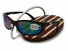 NEW Costa Del Mar FATHOM Tortoise & 580 Green Mirror Glass 580G