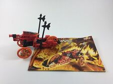 LEGO (8510) | ROBORIDERS | LAVA | 100% COMPLETE + INSTRUCTIONS