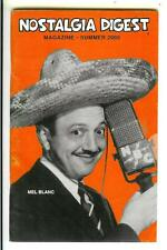 NOSTALGIA DIGEST sum/05 rare US OTR radio digest mag, SF on radio, Mel Blanc