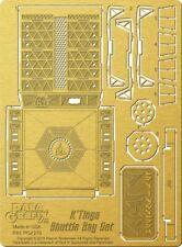 Paragrafix 219  1/350 Star Trek: Klingon K'Tinga Shuttle Bay PE Set x
