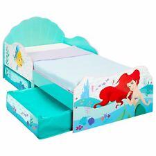 Disney Princess Ariel Meerjungfrau Kleinkind Bett Mit Aufbewahrung Kinder