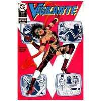 Vigilante (1983 series) #46 in Near Mint minus condition. DC comics [*j1]